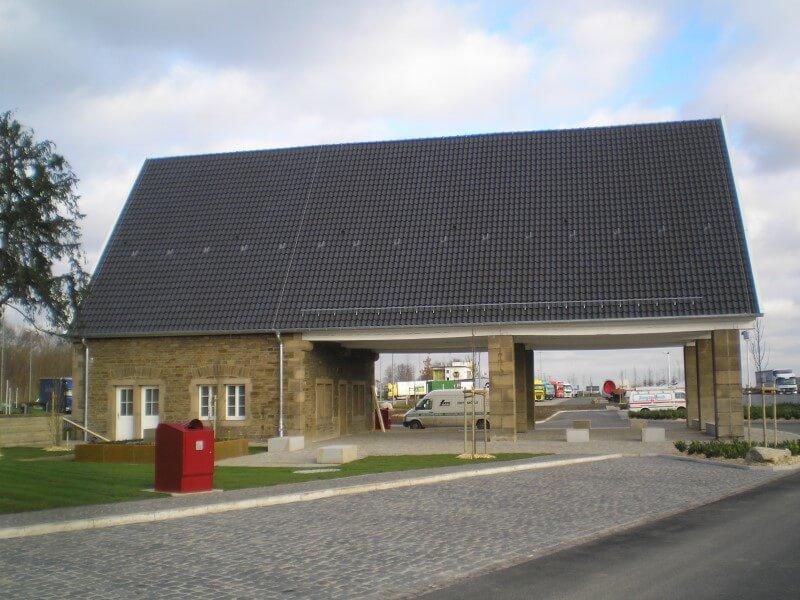 Tankstelle wird zur Autobahnkapelle - Hamm